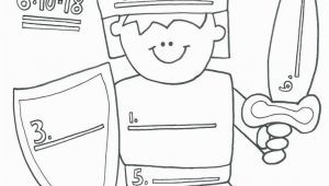Whole Armour Of God Coloring Pages Armor God Coloring Pages Best Full Armor God