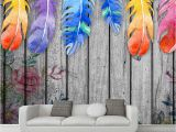Whole Wall Murals Custom Any Size 3d Wall Murals Wallpaper Modern Hand Painted Wood