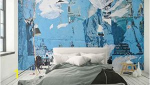 Whole Wide World Wall Mural Wallpaper Wall Mural torn Paper Background Wall