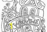 Whoville Houses Coloring Pages 409 Best Color Christmas Images