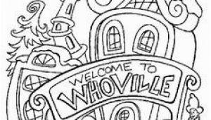 Whoville Houses Coloring Pages 70 Best Putz Dr Seuss Inspiration Images