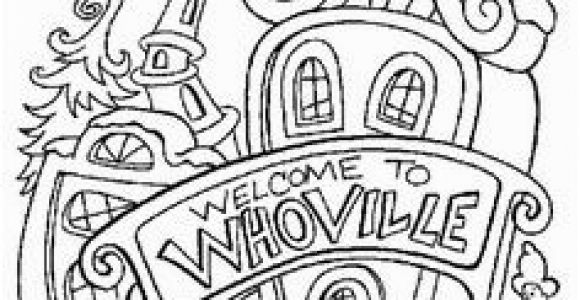 Whoville Houses Coloring Pages 70 Best Putz Dr Seuss Inspiration Images