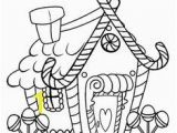 Whoville Houses Coloring Pages Printable Gingerbread House Coloring Pages for Kids