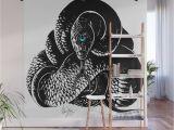 Wild Turkey Wall Murals Snake Meditation Wall Mural