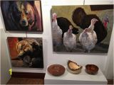 Wild Turkey Wall Murals Wall Mounted Ceramic Sculptures Paintings Blown Glass