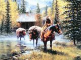 Wild West Wall Murals Outfitters Hideaway Jack Terry