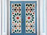 Window Cling Murals Kaleidoscope Color Vinyl Glass Wall Stickers 3d Diy Door Window