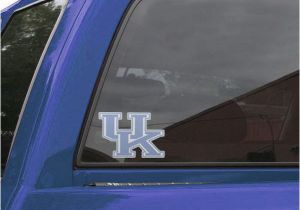 Window Murals for Cars Kentucky Wildcats Perforated Window Decal