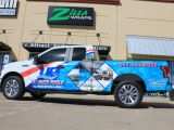 Window Murals for Cars Pool Truck Design Ideas American Flag