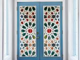 Window Murals for Trucks Kaleidoscope Color Vinyl Glass Wall Stickers 3d Diy Door Window