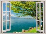 Window View Wall Mural Pin Von Makke Schneider Auf Fototapete Fenster In 2019