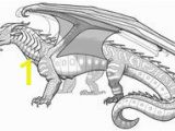 Wings Of Fire Dragon Coloring Pages 81 Best Wings Fire Images