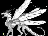 Wings Of Fire Dragon Coloring Pages Hivewing