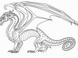 Wings Of Fire Seawing Coloring Pages Outstanding Wings Fire Coloring Page Free to Use Rainwing Lineart