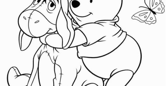 Winnie the Pooh and Eeyore Coloring Pages Eeyore Winnie the Pooh Coloring Pages Eeyore Coloring