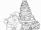 Winnie the Pooh Christmas Coloring Pages Pikachu and ashley Christmas Coloring Picture 1063—1010