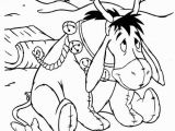 Winnie the Pooh Christmas Coloring Pages Winnie the Pooh Christmas Coloring Page