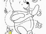 Winnie the Pooh Fall Coloring Pages Winnie the Pooh Coloring Pages