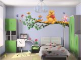 Winnie the Pooh Nursery Wall Murals Diy Winnie the Pooh Tree Branch Wall Sticker Decal Kids Home