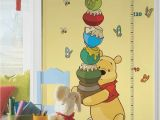 Winnie the Pooh Nursery Wall Murals Pooh & Friends Growth Chart Wall Decals