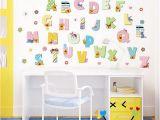 Winnie the Pooh Wall Mural Stencils Al 26 A Z Alphabet Letters Winnie the Pooh Wall Stickers