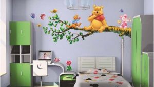 Winnie the Pooh Wall Mural Stickers Diy Winnie the Pooh Tree Branch Wall Sticker Decal Kids Home