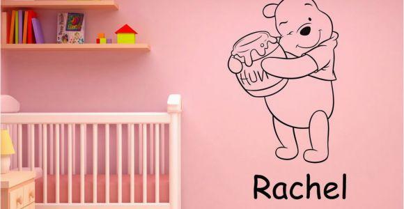 Winnie the Pooh Wall Murals Disney Winnie the Pooh Personalised Wall Art Sticker Decal Boys