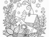 Winter Cabin Coloring Pages Cabin In the Snow Coloring Page Crayola