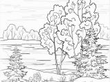 Winter Cabin Coloring Pages Landscape Coloring Page 16 Colorpagesforadults Coloring