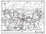 Winter Holiday Coloring Pages Printable Here to Our New Winter Sleigh Ride Printable