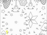 Winter Holiday Coloring Pages Printable Two ornaments Connect the Dots and Coloring Page Cu and Non Cu