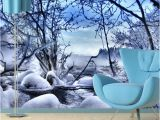 Winter Scene Wall Murals 44 ] Wallpaper Murals Winter Scenes On Wallpapersafari