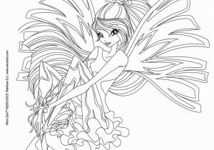 Winx Believix Coloring Pages Bloom Transformation Sirenix Coloring Pages Hellokids