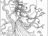 Witch Coloring Pages for Adults Best Halloween Coloring Books for Adults