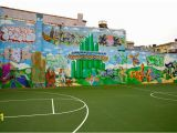 Wizard Of Oz Wall Mural Wizard Of Oz Graffiti Mural Not so Hidden D C