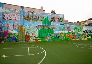 Wizard Of Oz Wall Mural Wizard Of Oz Graffiti Mural Not so Hidden D C