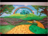 Wizard Of Oz Wall Mural Wizard Of Oz themed Mural by Caras Creations for A Child S Nursery
