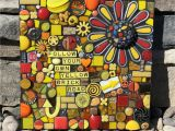 Wizard Of Oz Wall Murals Follow Your Own Yellow Brick Road original Mixed Media Mosaic Wall