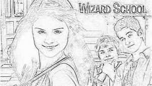 Wizards Of Waverly Place Coloring Pages to Print Get Free Wizards Of Waverly Place Coloring Pages