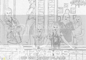 Wizards Of Waverly Place Coloring Pages Wizards Of Waverly Place Wizards Of Waverly Place An