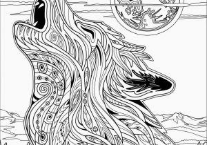 Wolf Coloring Pages for Adults Wolf Coloring Page