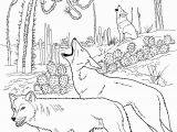 Wolf Coloring Pages to Print Out Free Wolf Coloring Pages