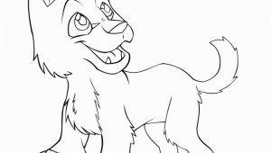Wolf Face Coloring Page Baby Wolf Coloring Pages
