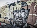 Wolf Of Wall Street Mural Araber Clans In Deutschland Feind ist Der Staat –