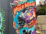 """Wolf Of Wall Street Mural E World Street Art On Twitter """"be A Rebel Be Yourself"""