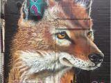 Wolf Of Wall Street Mural Ethiopian Wolf
