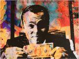 Wolf Of Wall Street Mural Wolf Wall Street Leonardo Dicaprio Motivational Art Poster