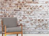 Wood Look Wall Mural Ranging From Grunge Style Concrete Walls to Classic Effect