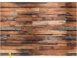 Wooden Planks Wall Mural 100 In H X 144 In W Reclaimed Wood Wall Mural
