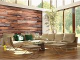 Wooden Planks Wall Mural Pin On Brick Wood & Metal Wallpaper